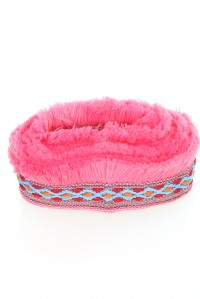 Fringed Pink Belt
