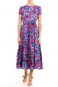 Elisa Silk Twill Dress