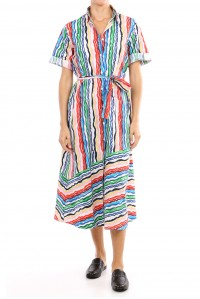 Rainbow Shirt Dress