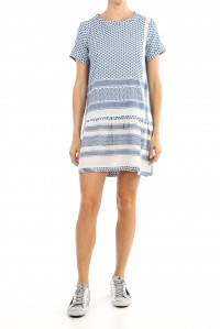 Dress 2 O Short Sleeve Cobalt