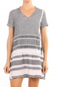 Dress 2 V Short Sleeve