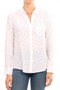 Katie Silk Heart Shirt