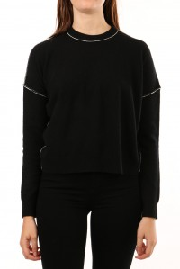 Steely Cashmere Sweater