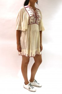Thea Silk Dress