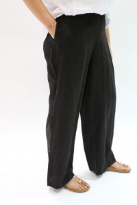 Ebony Wide Leg Trouser