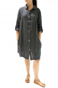 Zoey Shirt Dress