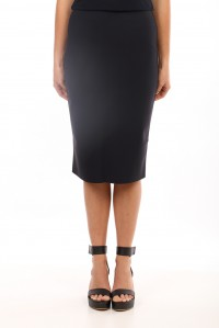 STRETCH PENCIL SKIRT NAVY