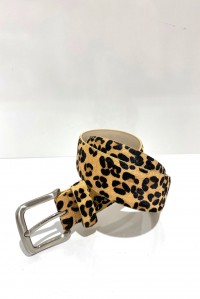 Fur Belt Leopard
