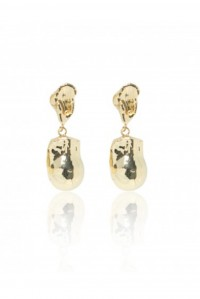 Laguna Double Gold Earrings