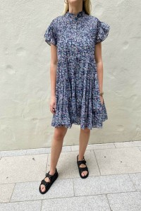 Lanikaye Dress Blue Floral