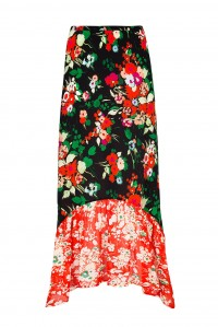 Leandra Skirt Bunch Floral