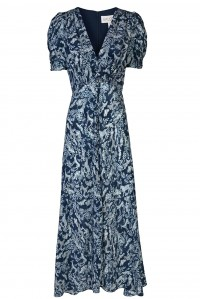 Lea Dress Navy Menagerie