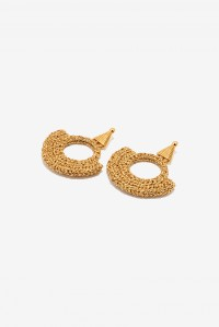 Memphis Milano Hand Crochet Earrings