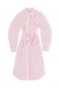 Lollipop Stripe Shirt Dress