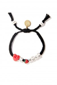 Love You Berry Much Bracelet Black