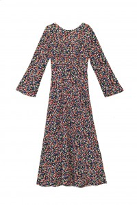 Mimi Dress Smudge Print