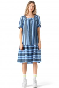 Makena Dress Cloud Blue