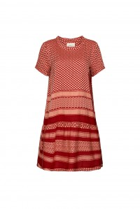 Dress 2 O Short Sleeve Raspberry