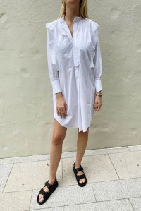 Orsenia Dress White