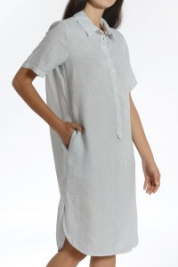 Shirtmaker Linen Dress
