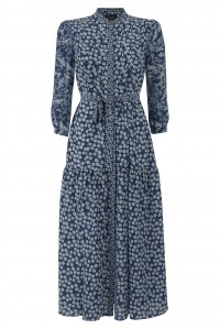 Remi C Dress Navy Menagerie