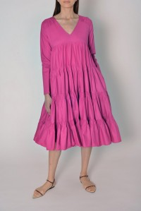 Rodas Dress Fuchsia
