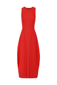 At Length Dress Red