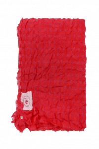 Loophole Scarf Red