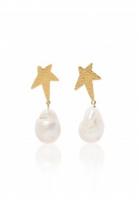 Siren Star Baroque Pearl Earrings