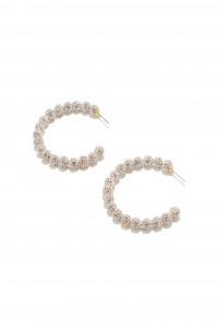 Stardust Crystal Hoops