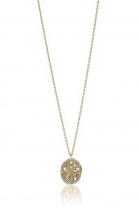Sand Dollar Chain Necklace