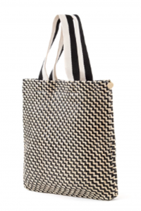 Carryall Tote Zig Zag Leather