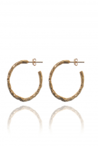 Vesta Twisted Hoops