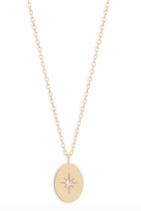 14k Gold Shine Your Light Necklace