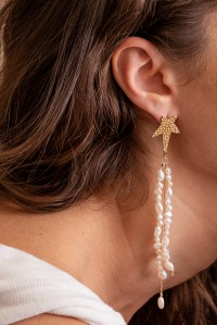 Siren Star Strand Earrings