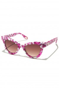 Uptown Cat Eye Sunglasses Pink Taffy