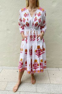 Vintage Maria Mid Rhubarb Dress