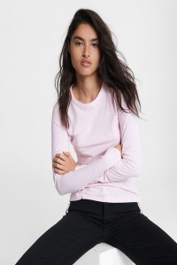 The Slub Longsleeve Ultra Pink