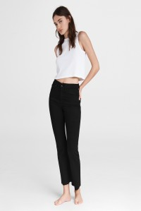 Nina High Rise Ankle Flare Jean