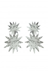 Bellatrix Earrings Silver