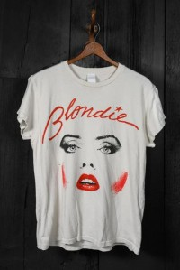 Blondie Vintage White Tee