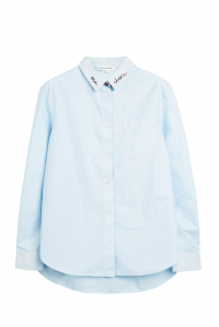 Chinti Boyfriend Shirt Blue