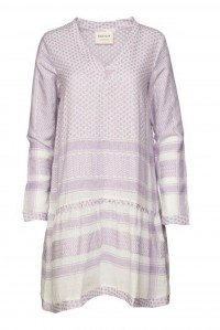 Dress 2 V Long Sleeve Lavender