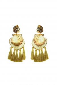Coquille Earrings Gold
