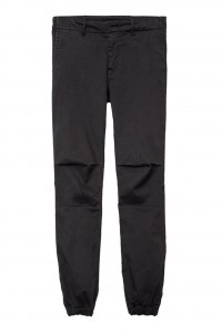 Cropped Military Pant Jet Black