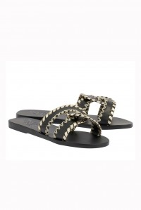Desmos Stitch Sandal Black