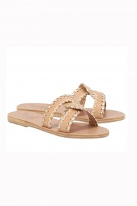 Desmos Stitch Sandal Tan