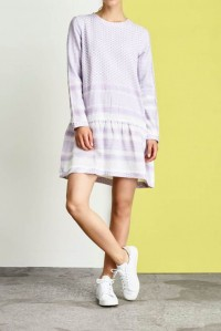 Dress 2 O Long Sleeve Lavender