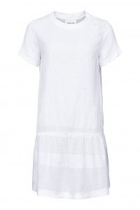 Dress 2 O Short Sleeve White