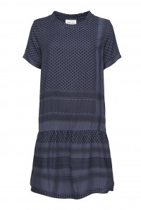 Dress 2 O Short Sleeve Blue Nights